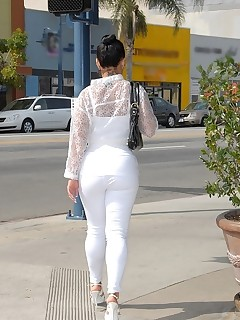 Latin biggest bubble butt of Monica