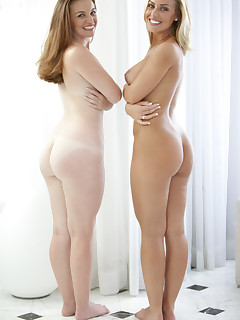 Nicole Aniston and Poison Ivy. Both of these large butt babes love 'em some cock.