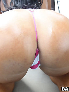Monica Santhiago is a Latin sweetheart honey with a massive, glamorous biggest ass.