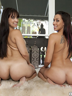 Big cutest butt be fitting of Rachel Starr And Her Phat booty Cuban Ally
