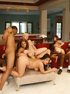 black dudes boning white cuties