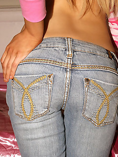 Ass angels in jeans