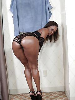 Sexy huge bum african cuties are exciting and erotic