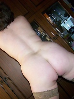 Nasty honeys and juicy butt housewives posing bare and showing their constricted amateur butts and pussies.