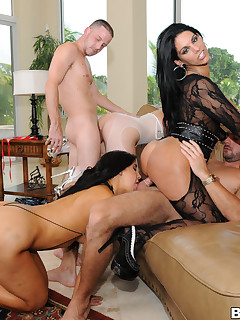 3 Huge Butts Getting Pounded..